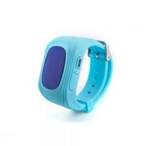 child GPS tracker watch blue