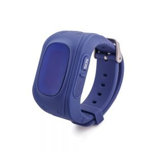 child GPS tracker watch dark blue